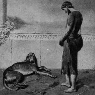 Ζωγραφικός πίνακας: η συνάντηση του Οδυσσέα με τον Άργο